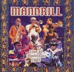 Mandrill - Live at Montreux 2002 CD (album) cover