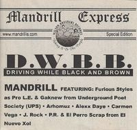 Mandrill D.W.B.B. album cover