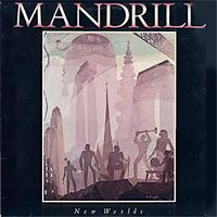 Mandrill New Worlds album cover