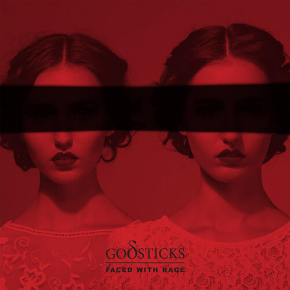 Faced With Rage by GODSTICKS album cover