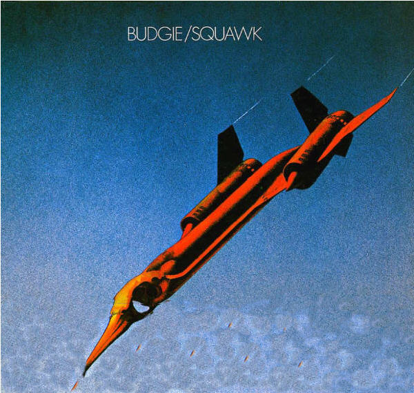Budgie - Squawk CD (album) cover