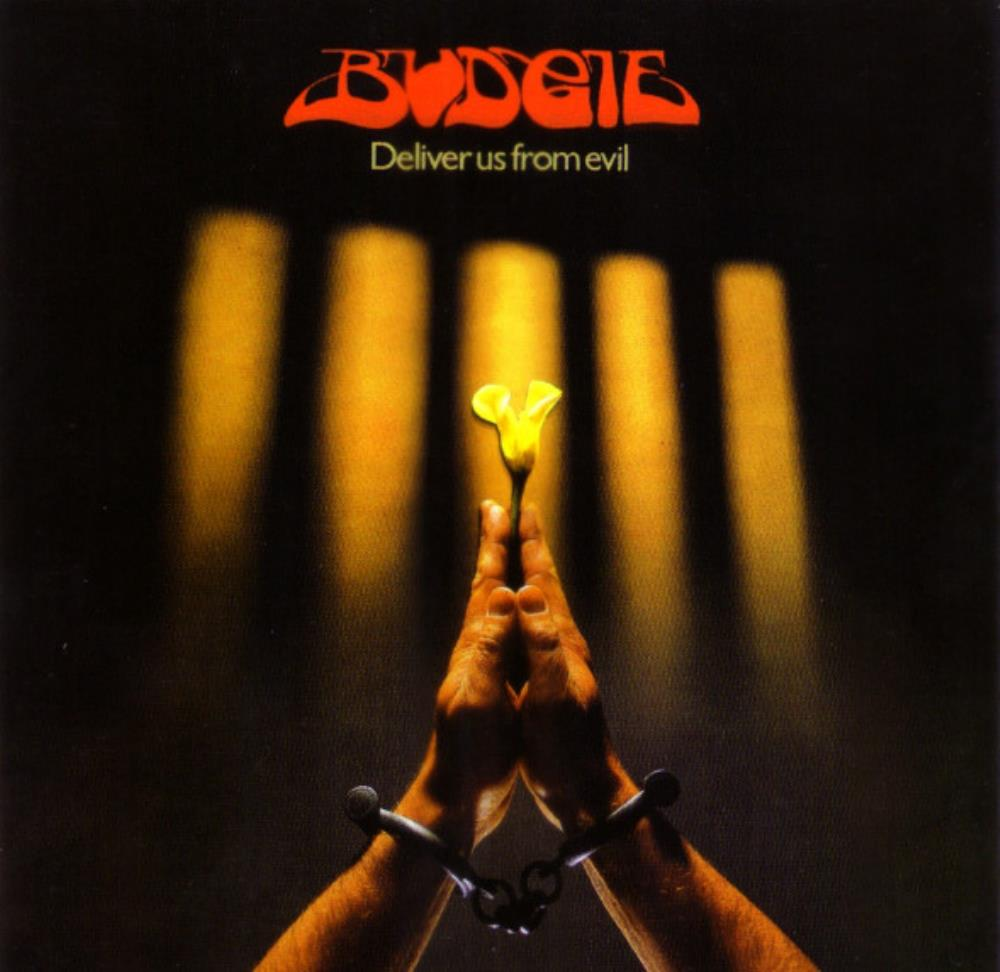 Deliver Us From Evil by BUDGIE album cover
