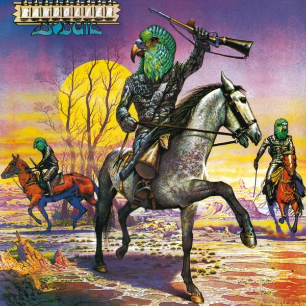 Bandolier by BUDGIE album cover