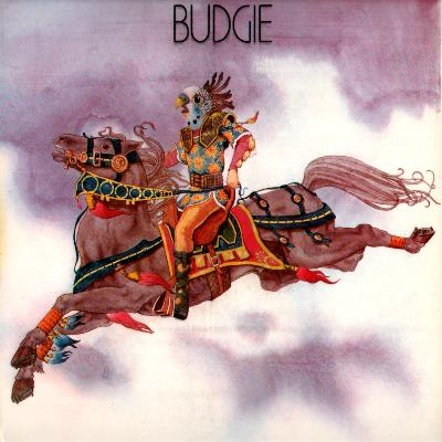 Budgie Budgie album cover