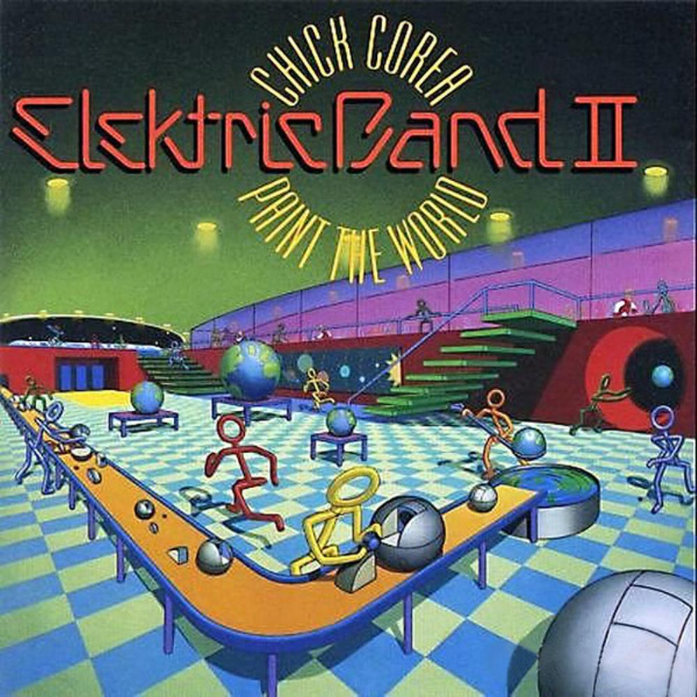 Paint The World by COREA ELEKTRIC BAND, CHICK album cover