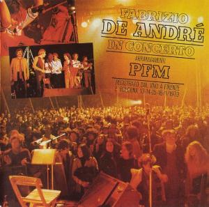 Fabrizio De André + PFM In concerto by DE ANDRÉ, FABRIZIO album cover
