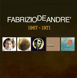 Fabrizio De Andr� 5 album originali 1967 - 1971 album cover