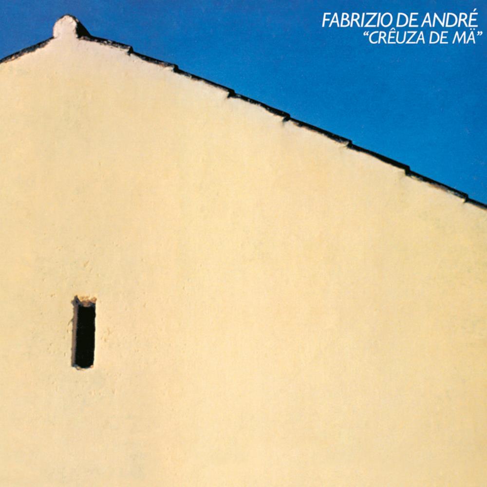 Creuza De Mä by DE ANDRÉ, FABRIZIO album cover