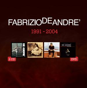 Fabrizio De Andr� 5 album originali 1991 - 2004 (4CD+DVD) album cover