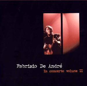 Fabrizio De André In concerto volume II album cover