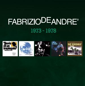 Fabrizio De Andr� 5 album originali 1973 - 1978 album cover