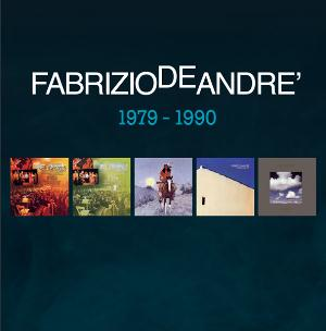 Fabrizio De Andr� - 5 album originali 1979 - 1990 CD (album) cover