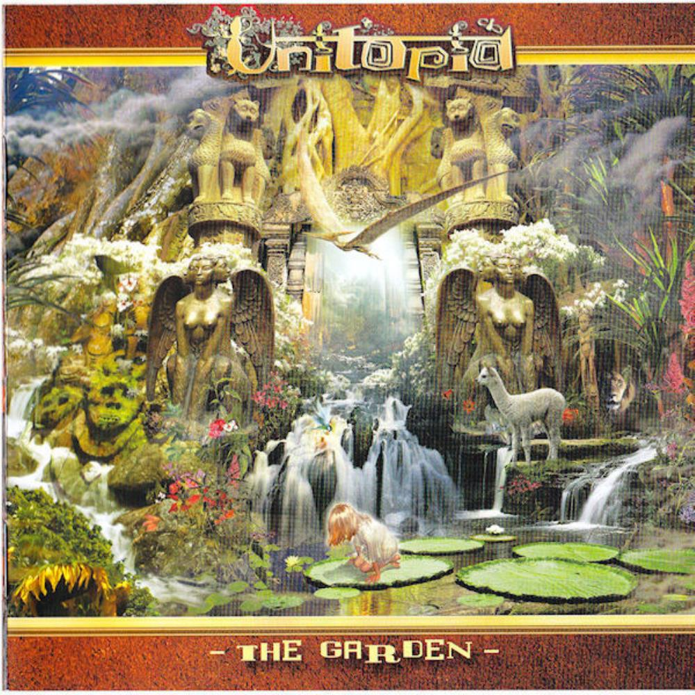 Unitopia - The Garden CD (album) cover