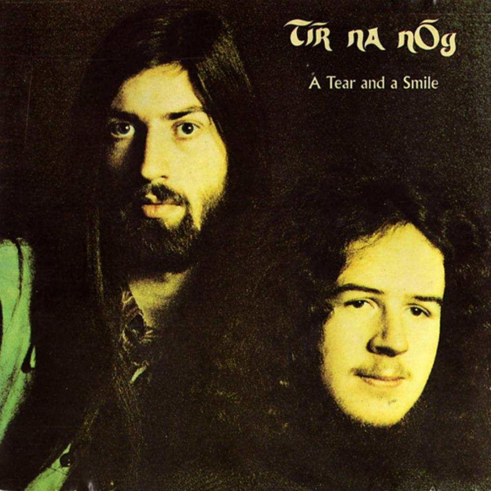 A Tear And A Smile by TIR NA NOG album cover