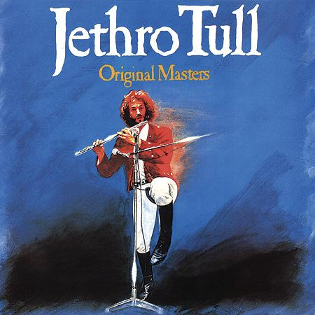 Original Masters  by JETHRO TULL album cover