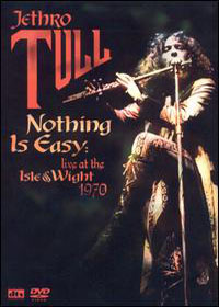Jethro Tull Nothing Is Easy: Live At The Isle Of Wight 1970 album cover