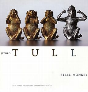 Jethro Tull -  Steel Monkey 12'' CD (album) cover