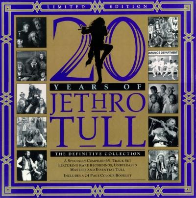Jethro Tull - 20 Years Of Jethro Tull (The Definitive Collection) CD (album) cover