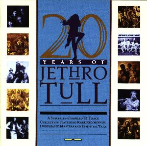 Jethro Tull - 20 Years Of Jethro Tull (USA release) CD (album) cover