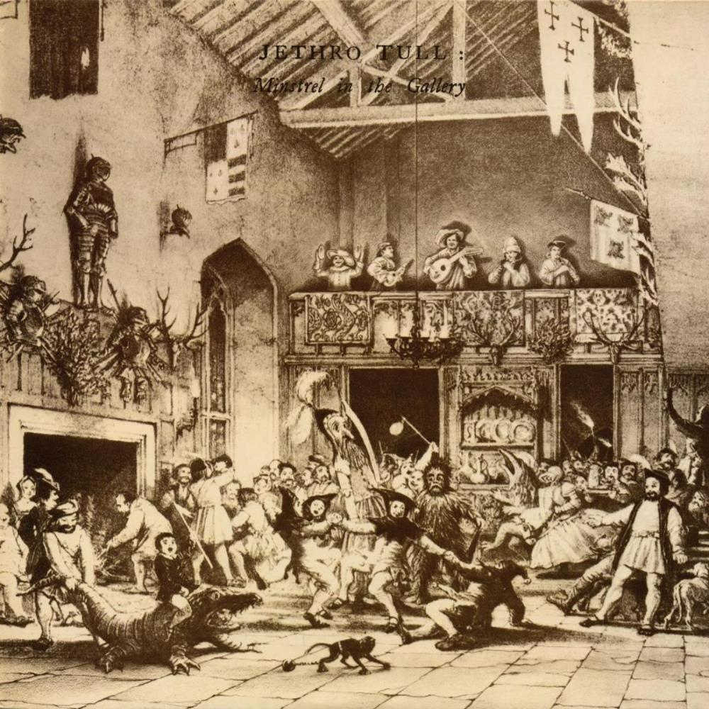 Minstrel In The Gallery by JETHRO TULL album cover