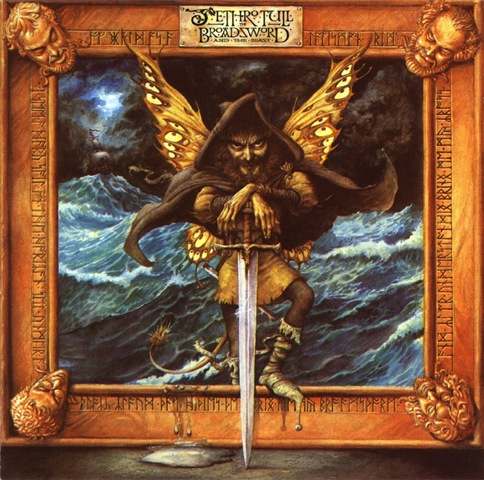 The Broadsword And The Beast by JETHRO TULL album cover
