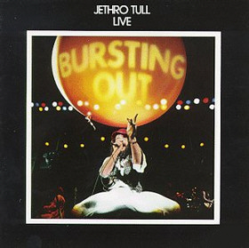 Jethro Tull - Live - Bursting Out CD (album) cover