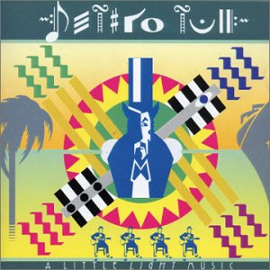 Jethro Tull - A Little Light Music  CD (album) cover