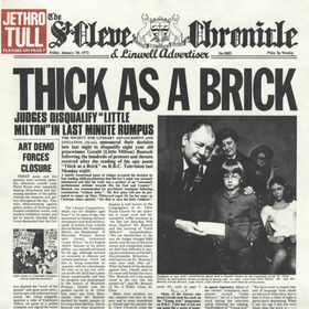 Jethro Tull Thick As A Brick album cover