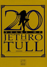 Jethro Tull 20 Years of Jethro Tull (VHS) album cover