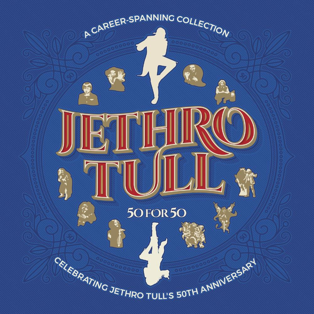 Jethro Tull - 50 For 50 CD (album) cover