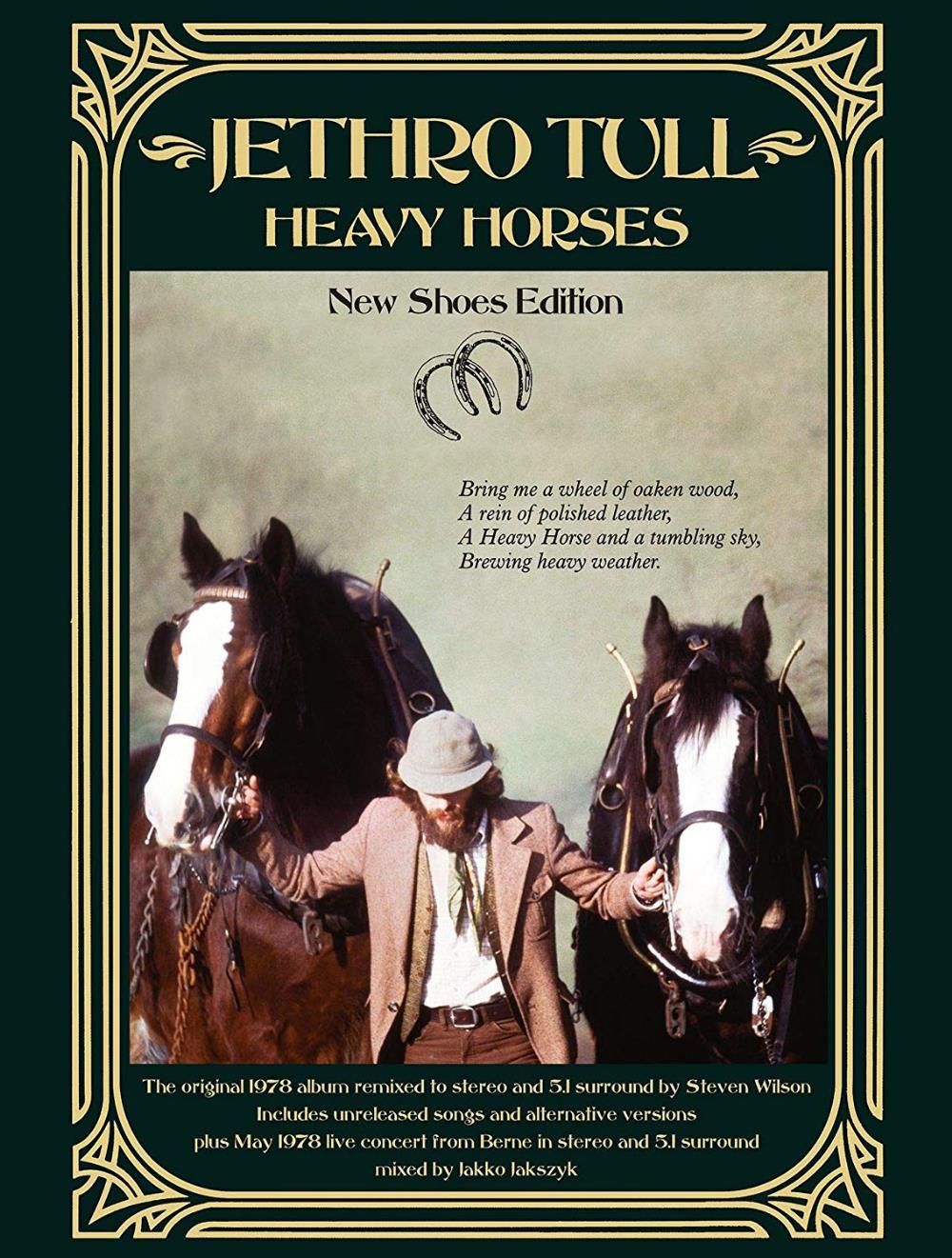 Jethro Tull - Heavy Horses (New Shoes Edition) CD (album) cover