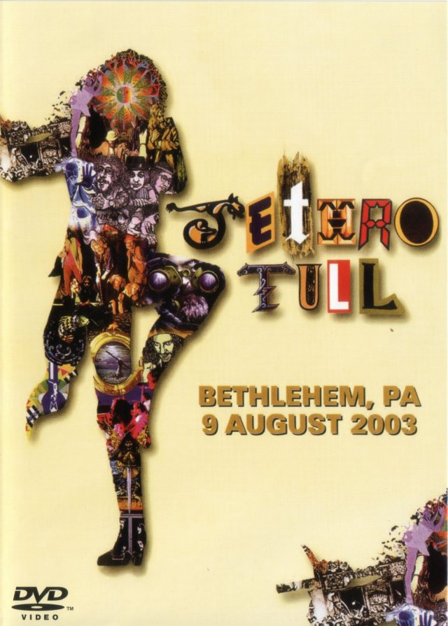 Jethro Tull Songs From Bethlehem (DVD) album cover