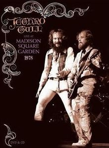 Jethro Tull - Live At Madison Square Garden 1978 (DVD + CD) CD (album) cover