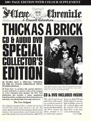 Jethro Tull Thick As A Brick - 40th Anniversary Special Edition album cover