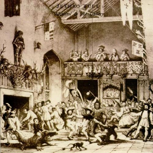 Jethro Tull Minstrel In The Gallery album cover