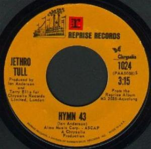 Jethro Tull - Hymn 43 CD (album) cover