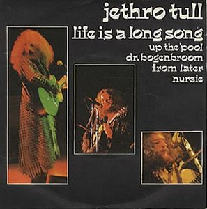 Jethro Tull Life Is A Long Song E.P. album cover