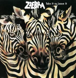 Take It Or Leave It by ZZEBRA album cover