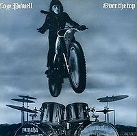 Cozy Powell - Over the Top CD (album) cover