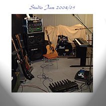 Crystal Palace Studio Jam 2004/05 album cover