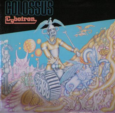 Cybotron - Colossus CD (album) cover