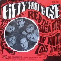Fifty Foot Hose Red the Sign Post / If Not This Time album cover