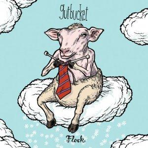 Gutbucket - Flock CD (album) cover