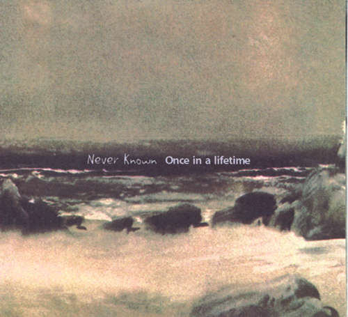 Once In A Lifetime by NEVER KNOWN album cover