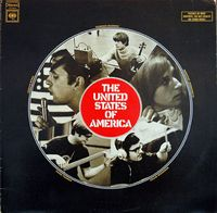 The United States Of America - The United States Of America  CD (album) cover