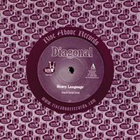 Diagonal Heavy Language (Black Sparkle) album cover