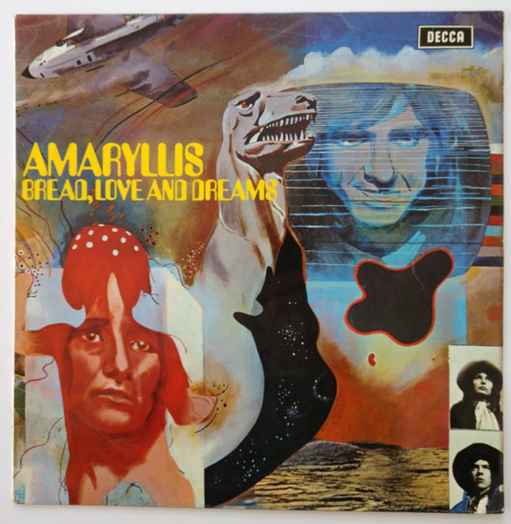 Bread Love And Dreams - Amaryllis CD (album) cover