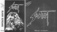Black Screams (Demo) by SADIST album cover