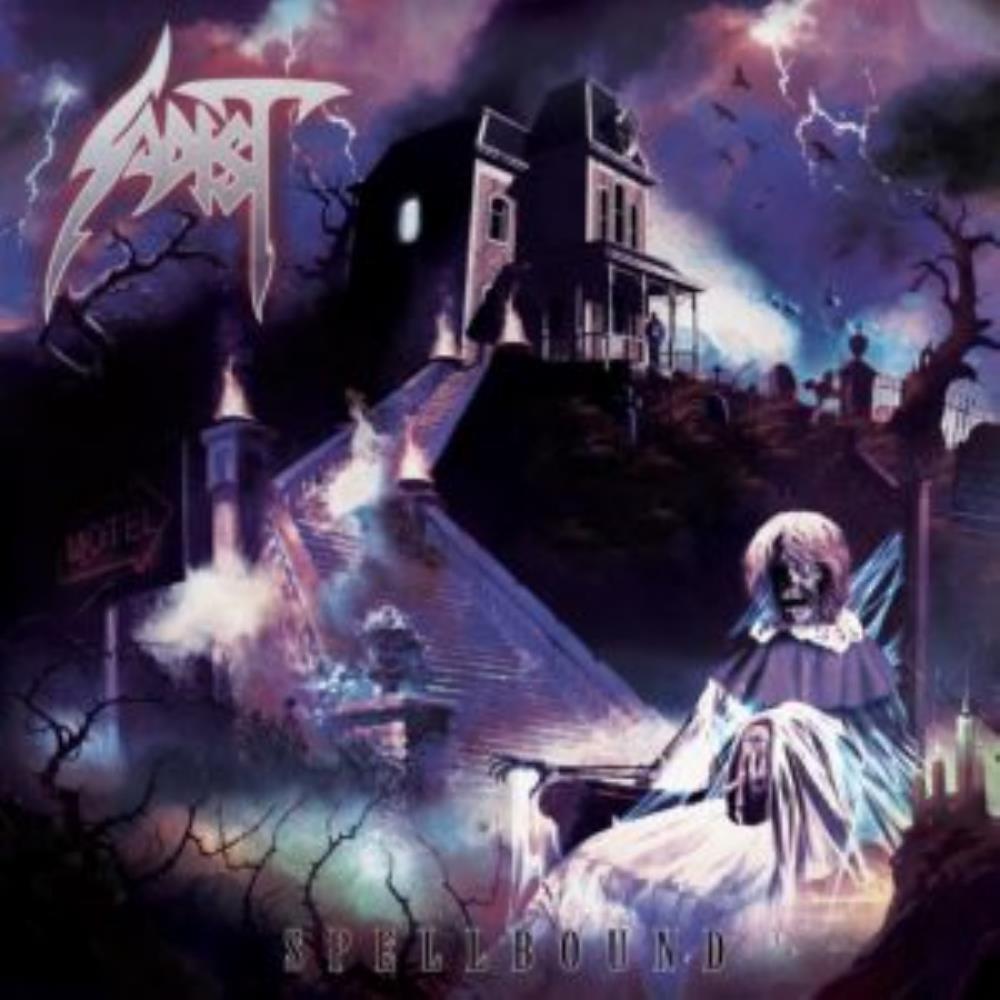 Spellbound by Sadist album rcover