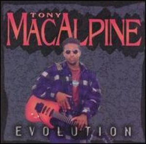 Tony MacAlpine Evolution album cover